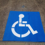 Handicap Stencil Painting Houston