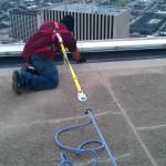 Crack Chasing Repair Prep for Deck Coating