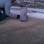 Crack Chasing to Prepare for Concrete Crack Coating