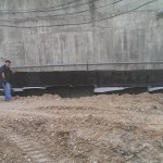 Concrete Wall Dampproofing
