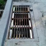 Houston Grates with Angle Iron Repair
