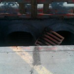 Fixing Grates with Angle Iron