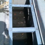 Restoration of Grates with Angle Iron