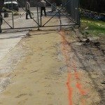 Trench for Power Cable Houston