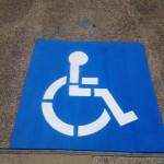 Handicap Stencil Painting Houston