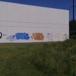 Houston Warehouse Wall Painting