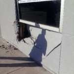 Bank Security Wall Reparation